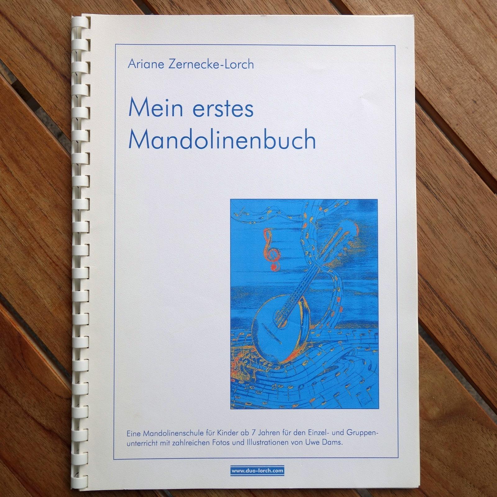 Mein erstes Mandolinenbuch