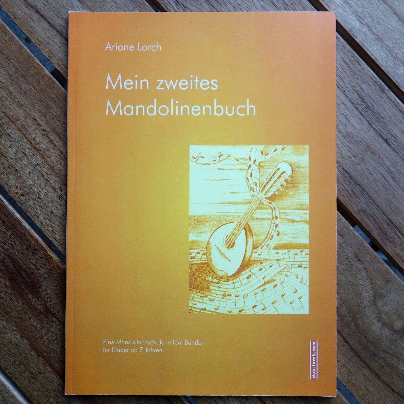 Mein zweites Mandolinenbuch