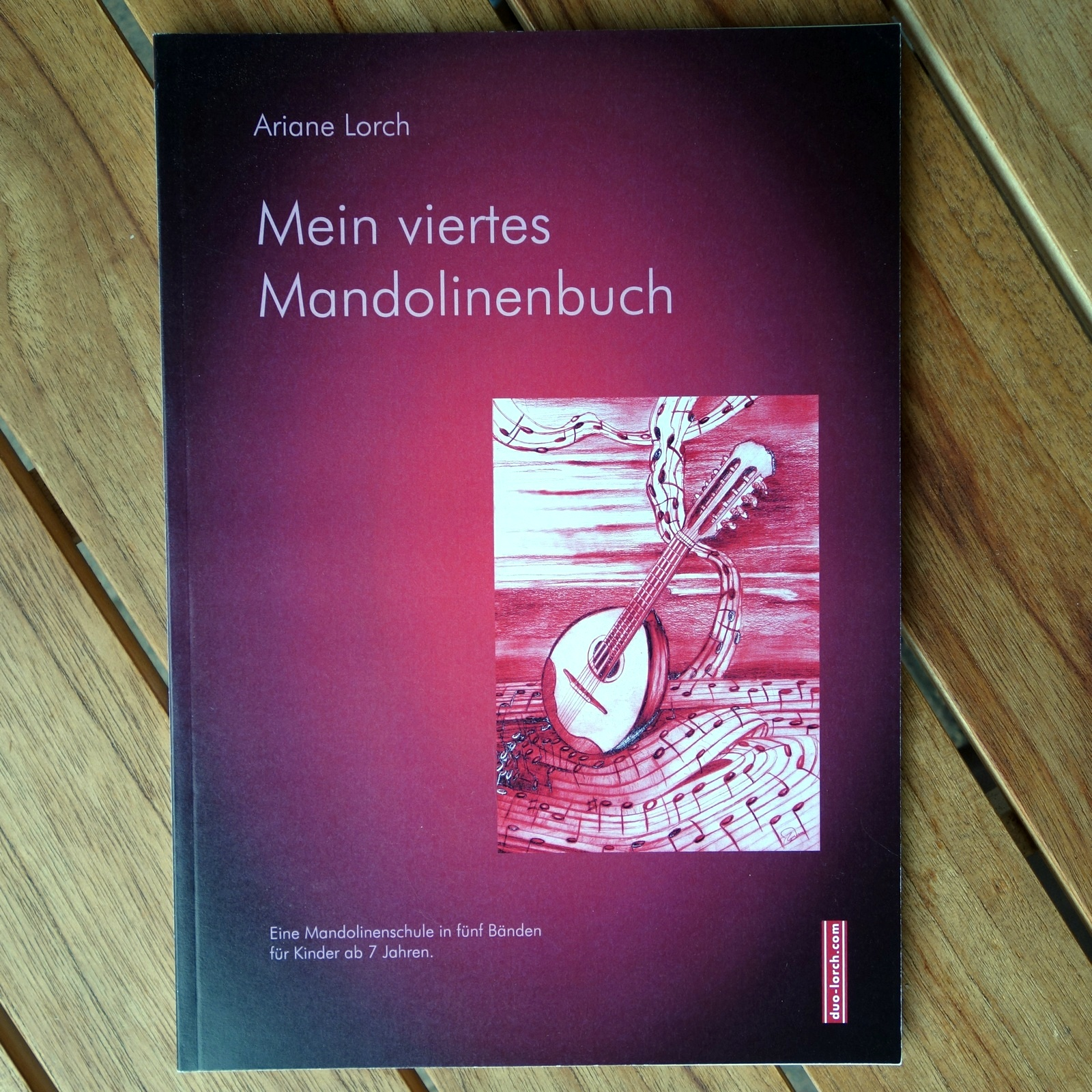 Mein viertes Mandolinenbuch