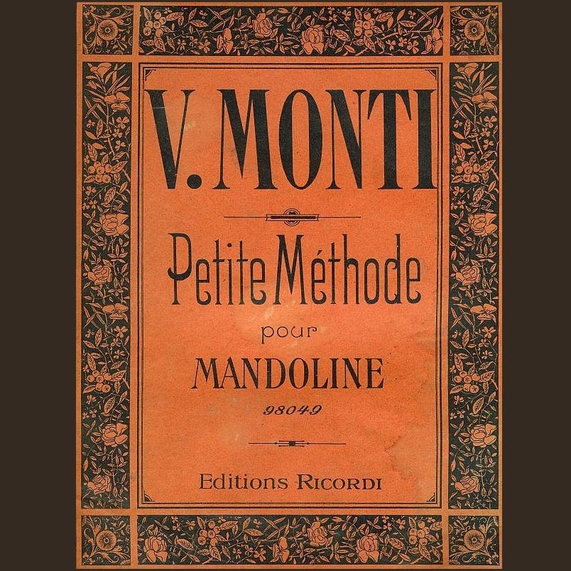 Mandolinenschule von V. Monti