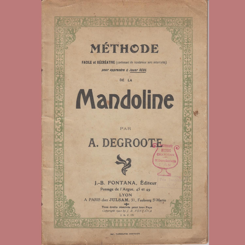 Methode de Mandoline A. Degroote