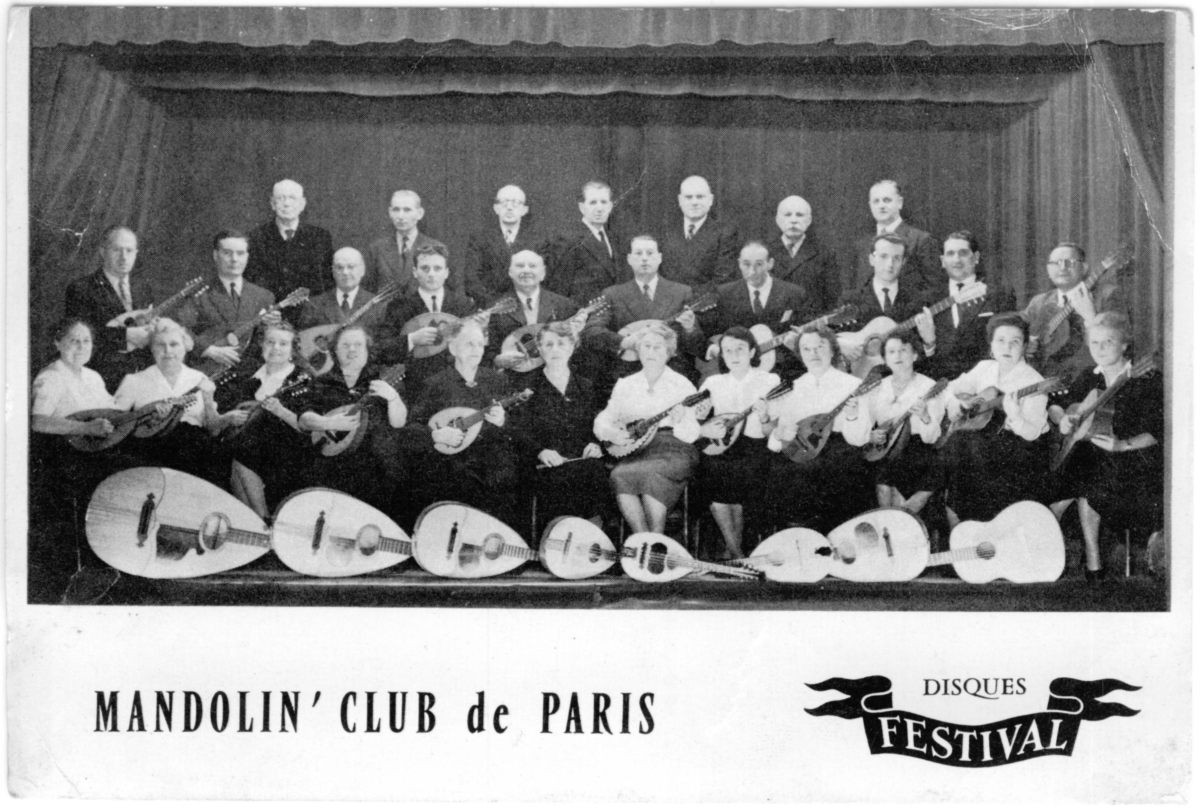 Mandoline Club de Paris Mandolinenorchester