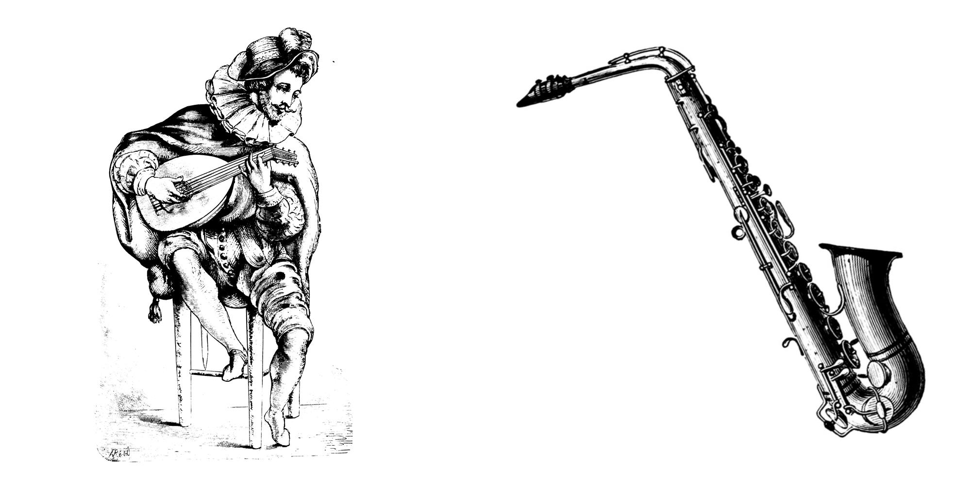 Laute Saxophon