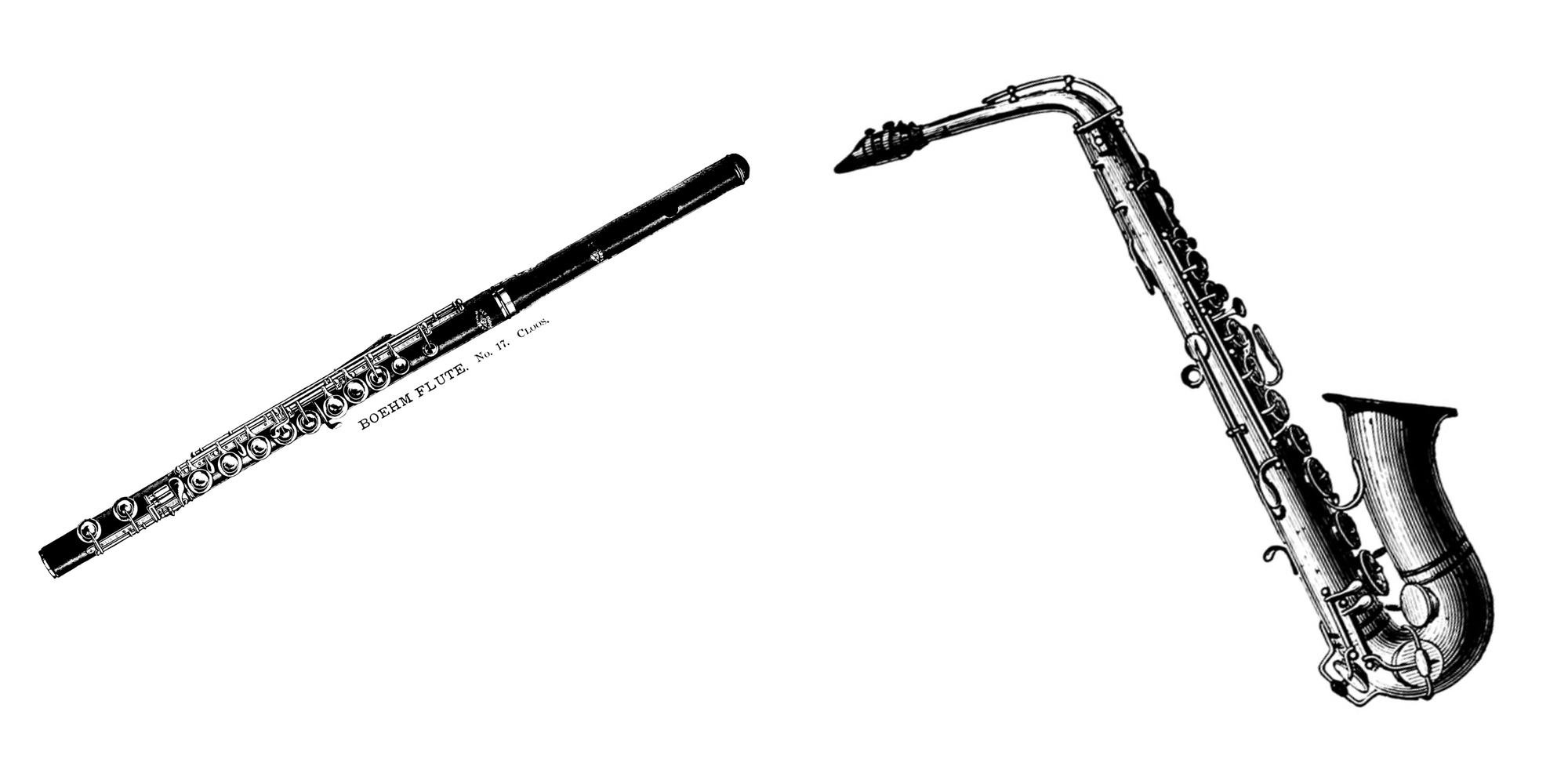Querflöte Saxophon