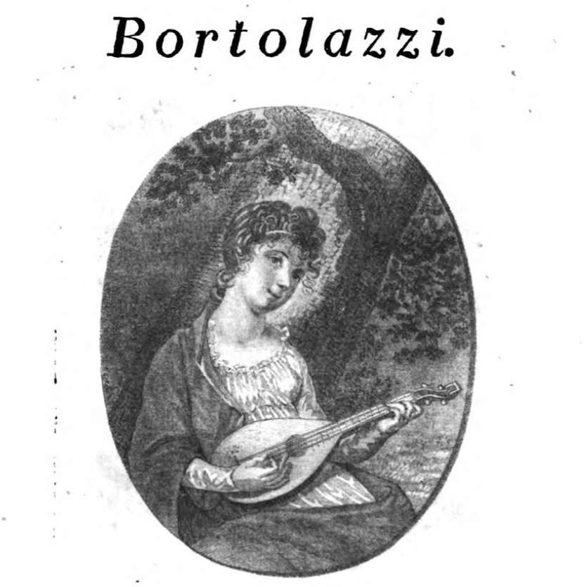 Haltung der Mandoline Bortolazzi