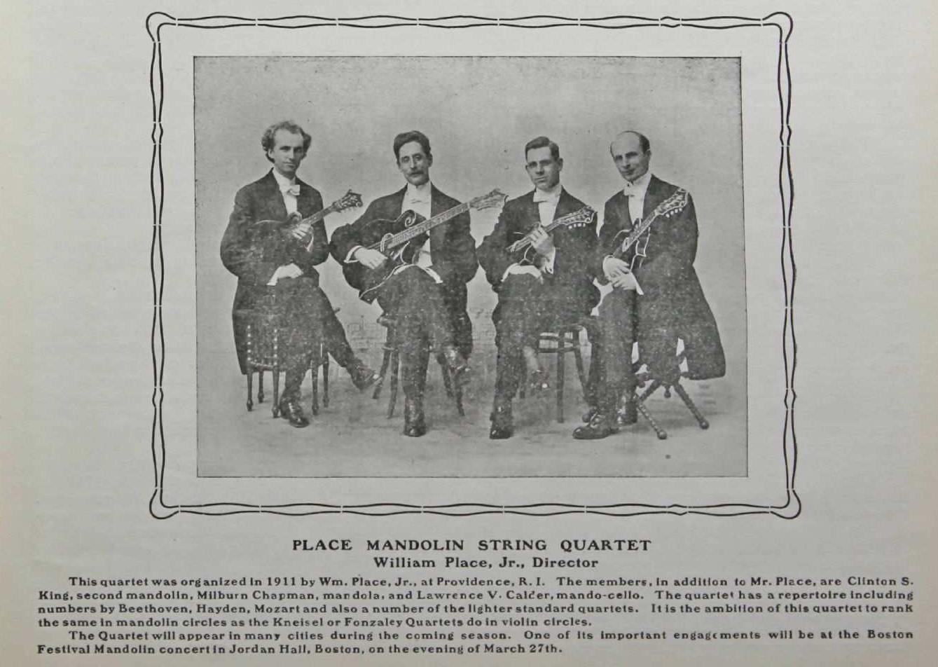 Place Mandolin String Quartet