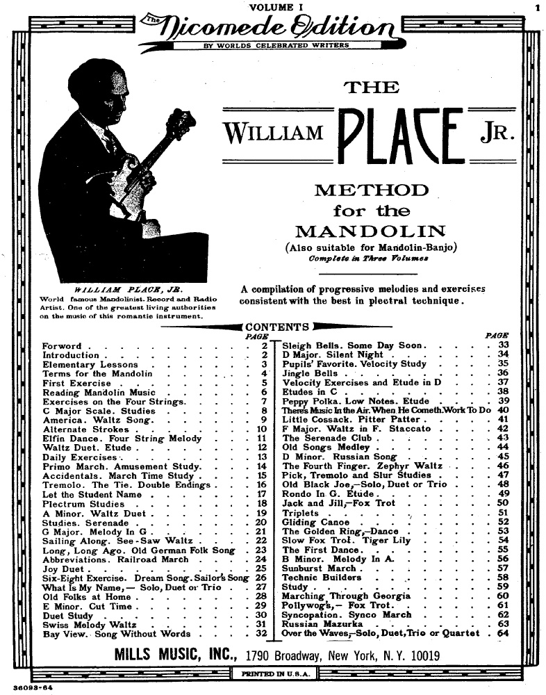 William Place jr. als Motoradfahrer