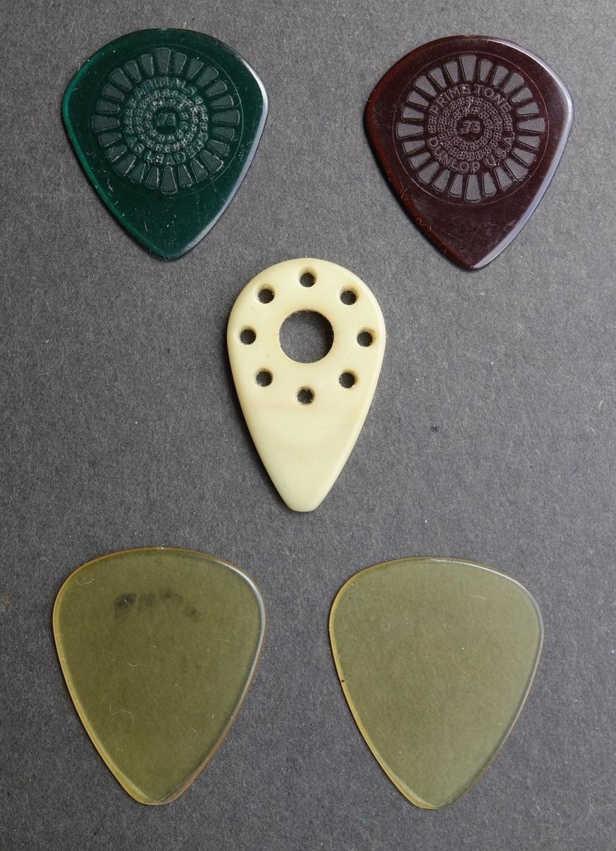 Plektren Dunlop Ultex Wolle Primetone