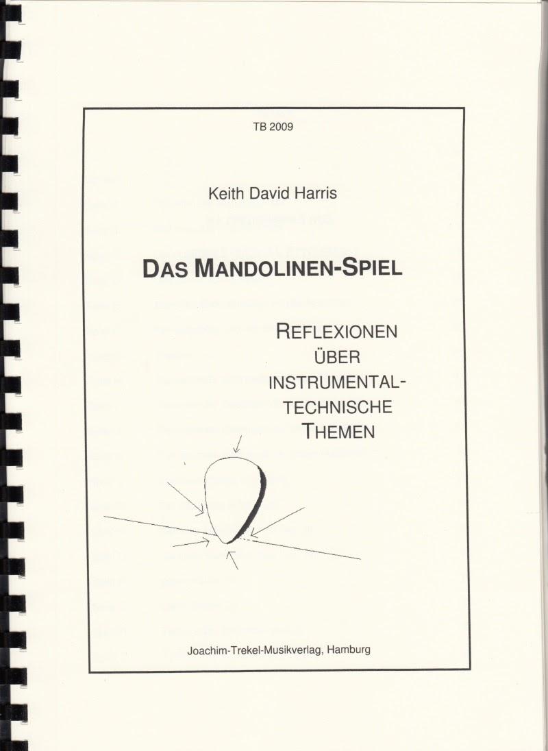 Keith Harris Das Mandolinen-Spiel Mandolinenschule
