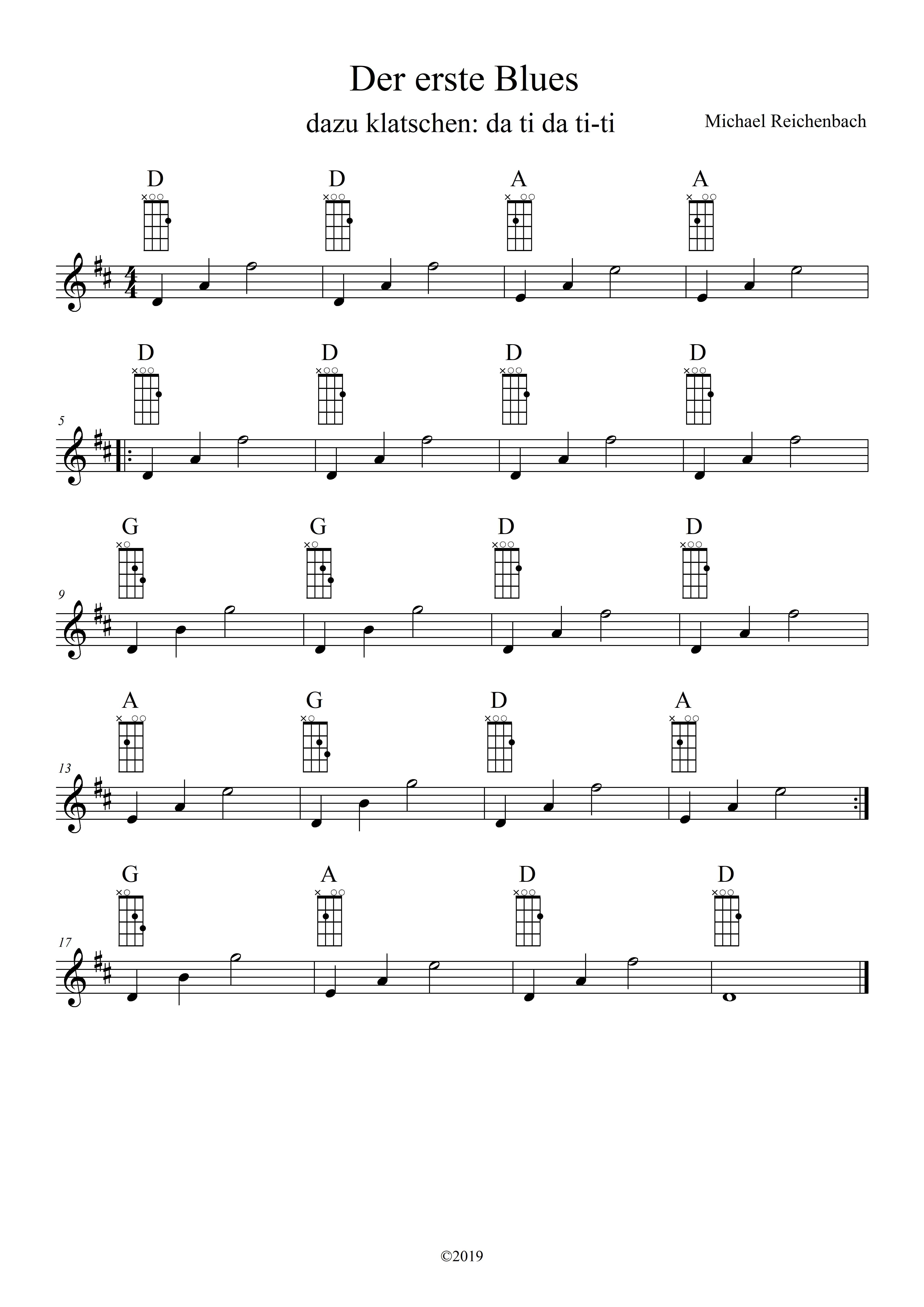Mandoline lernen - Der erste Blues