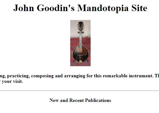 Kostenlose Noten von John Goodin