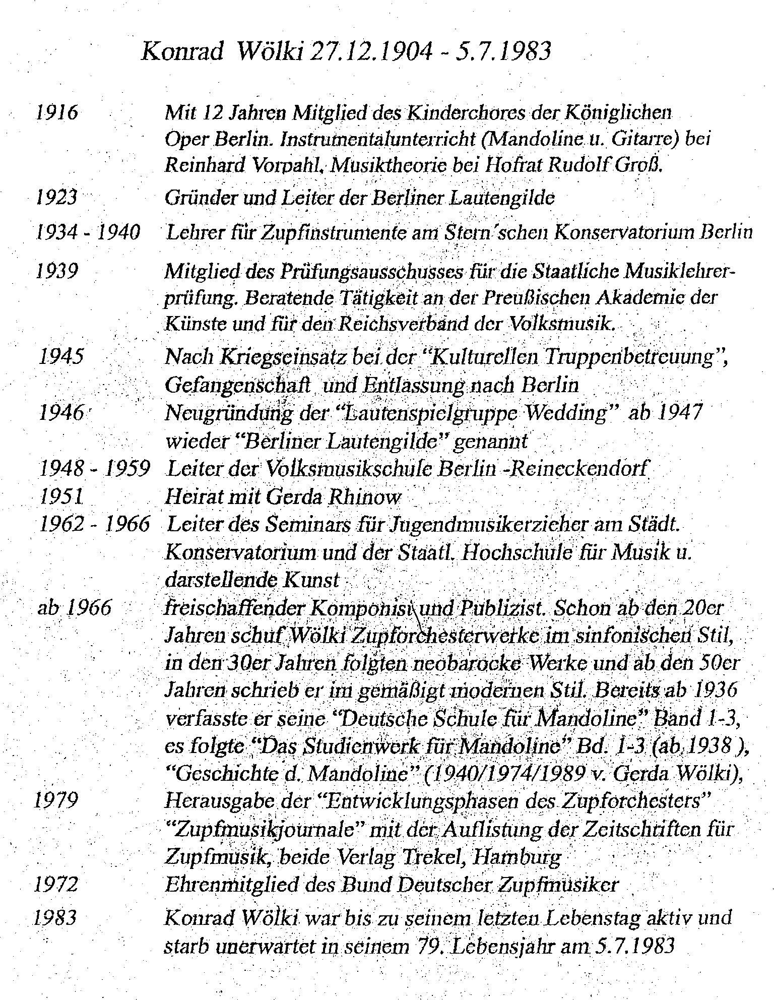 Konrad Woelki Ausstellung - Biografie